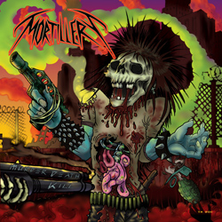 "Mortillery - ""Murder Death Kill"" CD cover image"