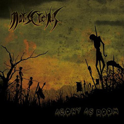 "Mortis Cruentus - ""Agony As Doom"" CD cover image"