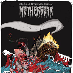 "Motherboar - ""The Beast Becomes the Servant"" CD cover image - Click to read review"