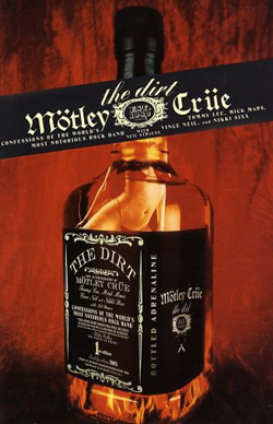 "Motley Crue - ""The Dirt: Confessions of the World's Most Notorious Rock Band"" Book cover image"