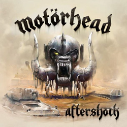 "Motorhead - ""Aftershock"" CD cover image"