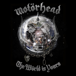 "Motorhead - ""The World Is Yours"" CD cover image"