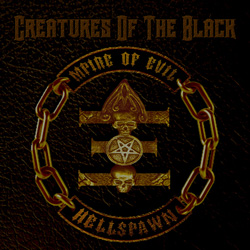 "Mpire Of Evil - ""Creature Of The Black"" CD cover image - Click to read review"