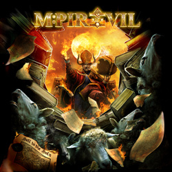 "Mpire Of Evil - ""Hell To The Holy"" CD cover image"