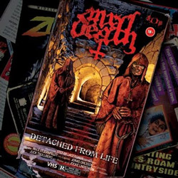 "Mr. Death - ""Detached From Life"" CD cover image - Click to read review"