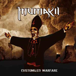 "Mumakil - ""Customized Warfare"" CD cover image - Click to read review"