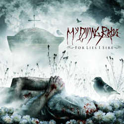 "My Dying Bride - ""For Lies I Sire"" CD cover image"