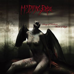 "My Dying Bride - ""Songs of Darkness, Words of Light"" CD cover image - Click to read review"