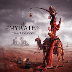 "Myrath - ""Tales Of The Sands"" CD cover image"