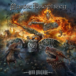 "Mystic Prophecy - ""War Brigade"" CD cover image"