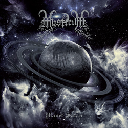 "Mysticum - ""Planet Satan"" CD cover image - Click to read review"