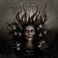 "Nachtmystium - ""Addicts: Black Meddle Pt. II"" CD cover image"