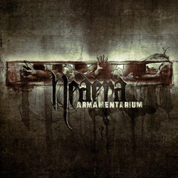 "Neaera - ""Armamentarium"" CD cover image"