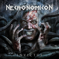 "Necronomicon - ""Invictus"" CD cover image - Click to read review"