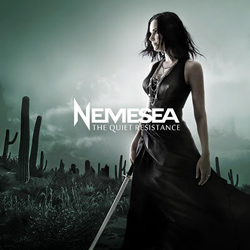 "Nemesea - ""The Quiet Resistance"" CD cover image"