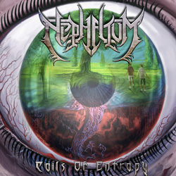"Nephelium - ""Coils of Entropy"" CD cover image - Click to read review"