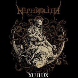 "Nephrolith - ""Xullux"" CD cover image - Click to read review"