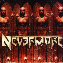 "Nevermore - ""Nevermore (reissue)"" CD cover image"