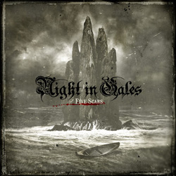 "Night In Gales - ""Five Scars"" CD cover image"