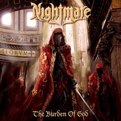 "Nightmare - ""The Burden Of God"" CD cover image"
