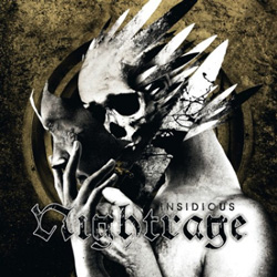 "Nightrage - ""Insidious"" CD cover image"