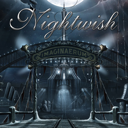 "Nightwish - ""Imaginaerum"" CD cover image - Click to read review"