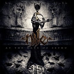 "Nile - ""At the Gate of Sethu"" CD cover image - Click to read review"