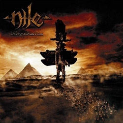 "Nile - ""Ithyphallic "" CD cover image"