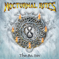 "Nocturnal Rites - ""The 8th Sin"" CD cover image"