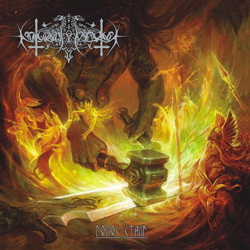 "Nokturnal Mortum - ""The Voice of Steel"" CD cover image - Click to read review"
