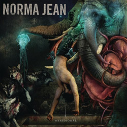 "Norma Jean - ""Meridional"" CD cover image - Click to read review"