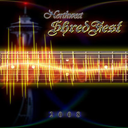 "NorthWest Shred Fest - ""NorthWest Shred Fest 2008"" CD cover image"