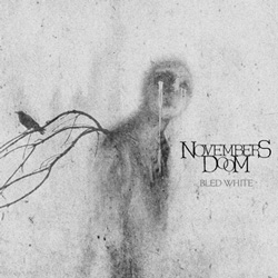 "Novembers Doom - ""Bled White"" CD cover image"