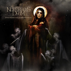"Novembers Doom - ""Into Night's Requiem Infernal"" CD cover image - Click to read review"