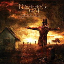 "Novembers Doom - ""The Pale Haunt Departure"" CD cover image - Click to read review"