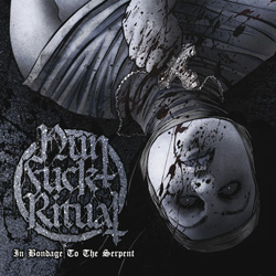 "NunFuckRitual - ""In Bondage To The Serpent"" CD cover image - Click to read review"