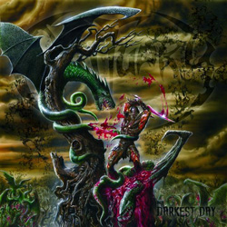 "Obituary - ""Darkest Day"" CD cover image - Click to read review"