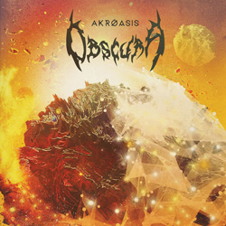 "Obscura - ""Akróasis"" CD cover image - Click to read review"
