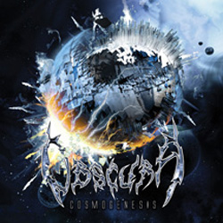 "Obscura - ""Cosmogenesis"" CD cover image - Click to read review"