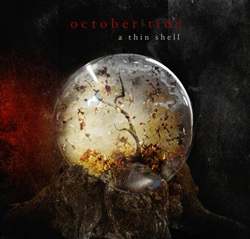 "October Tide - ""A Thin Shell"" CD cover image"