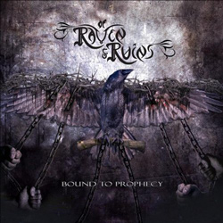 "Of Raven & Ruins - ""Bound To Prophecy"" CD cover image"