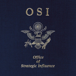 "Office of Strategic Influence - ""O.S.I. (reissue)"" CD cover image"