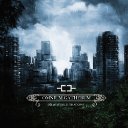 "Omnium Gatherum - ""New World Shadows"" CD cover image - Click to read review"