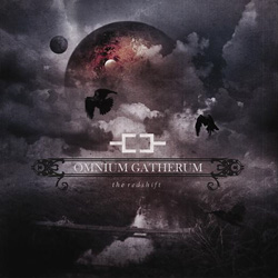 "Omnium Gatherum - ""The Red Shift"" CD cover image"