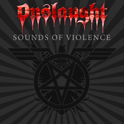 "Onslaught - ""Sounds Of Violence"" CD cover image - Click to read review"