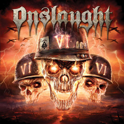"Onslaught - ""VI"" CD cover image"
