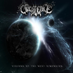 "Open Denile - ""Visions Of The Next Dimension"" CD cover image - Click to read review"