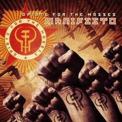 "Opiate for the Masses - ""Manifesto"" CD cover image - Click to read review"