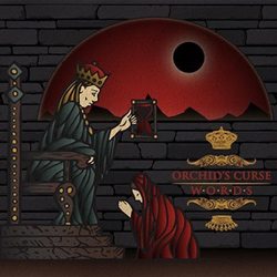 "Orchid's Curse - ""Words"" CD cover image"
