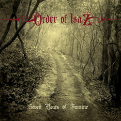 "Order of Isaz - ""Seven Years of Famine"" CD cover image"